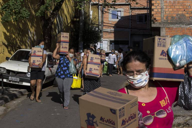 Movimento de moradores em Heliópolis se organiza para combater o Covid-19 e a fome
