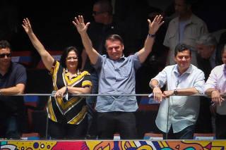 Partida entre Flamento e Atletico Paranaense pela Supercopa