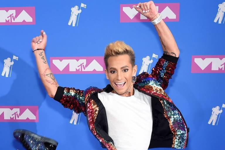 Frankie Grande, irmão da cantora Ariana Grande