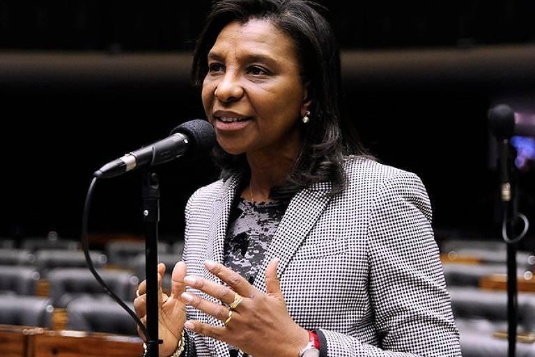 A deputada federal Rosangela Gomes (Republicanos-RJ), secretária nacional das Mulheres Republicanas