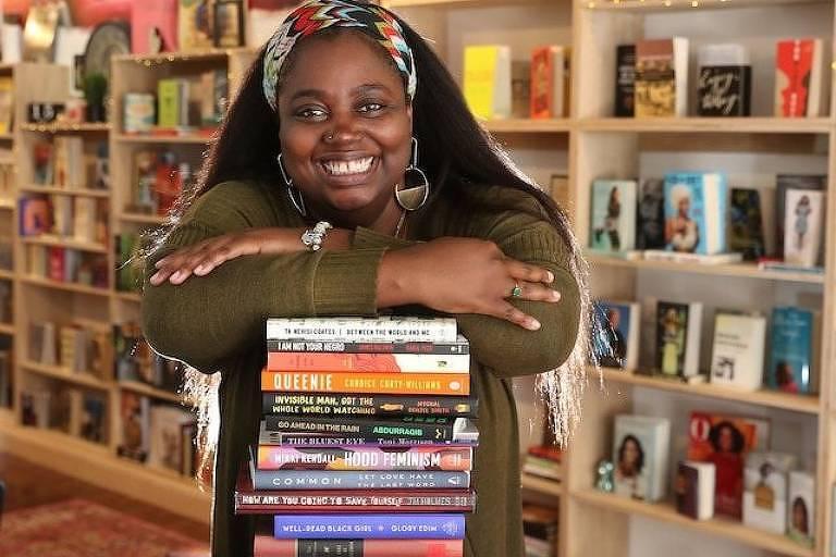 Danielle Mullen assinou contrato com a Bookshop quando a pandemia a forçou a fechar sua loja