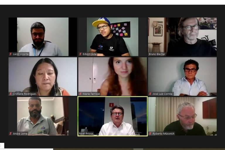 Em evento online mediado pelo jornalista Bruno Blecher, representantes e parceiros do Carrefour Brasil discutiram as medidas e ações de impacto socioambiental da empresa