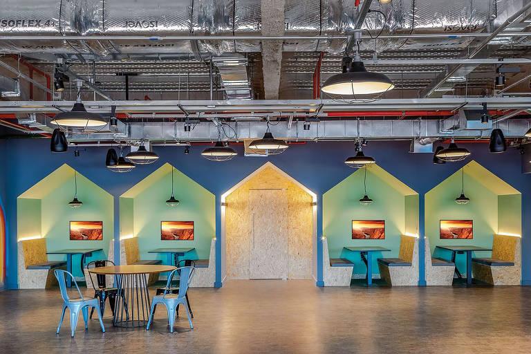 Fábrica de Startups, no Rio de Janeiro, projetada pelo escritório Athié Wohnrath