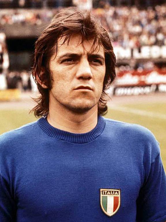 Roberto Boninsegna, ídolo da Inter de Milão, disputou as Copas do Mundo de 1970 e 1974 pela Itália