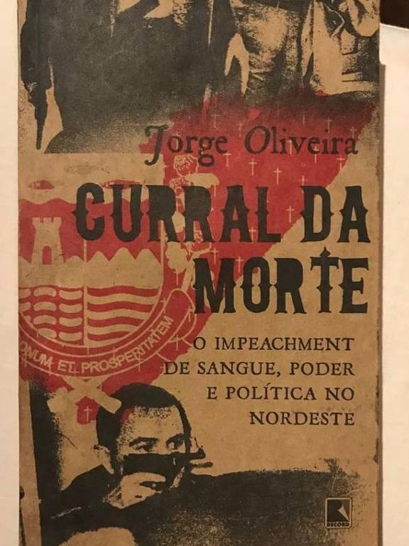 """Capa do livro """"Curral da Morte"""", de Jorge Oliveira"""