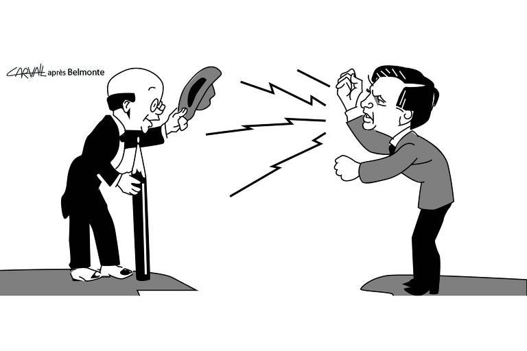 Os ataques aos chargistas