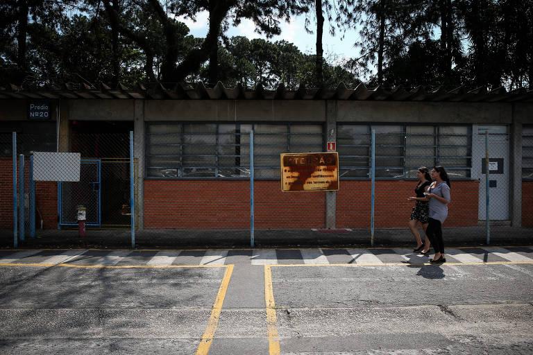 A fábrica da Ford em São Bernardo do Campo