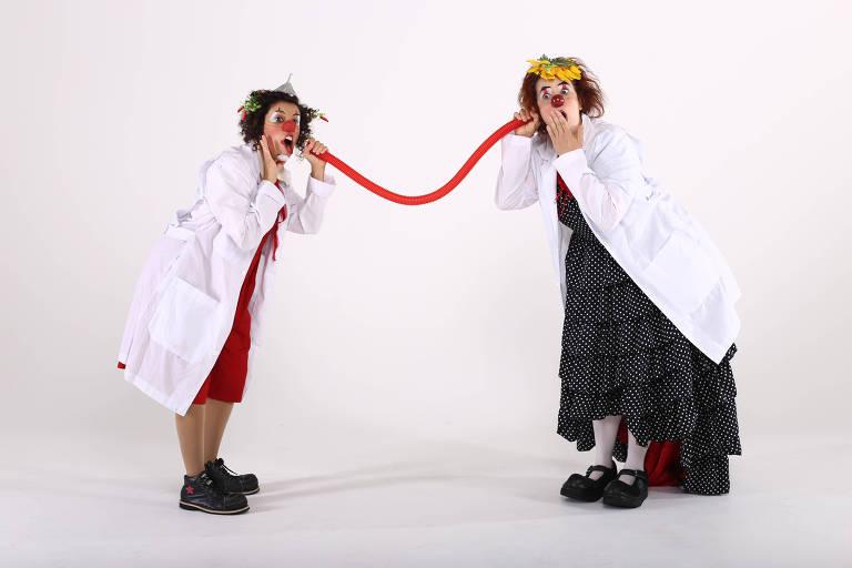 Doutores da Alegria fazem lives e animam pacientes internados