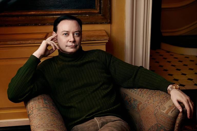 """O escritor Andrew Solomon, autor de """"O Demônio do Meio-Dia"""", em imagem de 2011"""