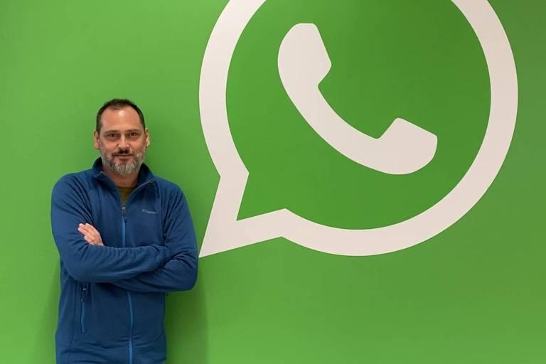 Pablo Bello, diretor de Políticas Públicas do WhatsApp para a América Latina