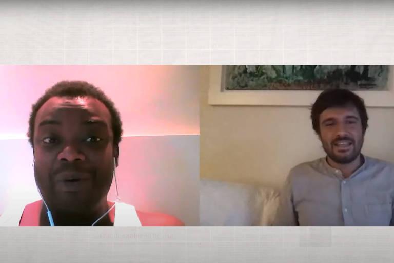 Luiz Fernando Ferreira, de Campinas, conversa com o colunista Mathias Alencastro