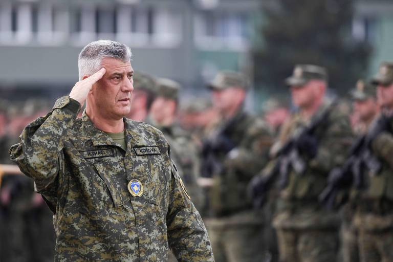 Presidente do Kosovo é indiciado por crimes de guerra