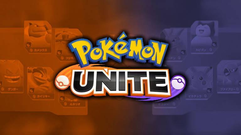 Imagens do game Pokémon Unite