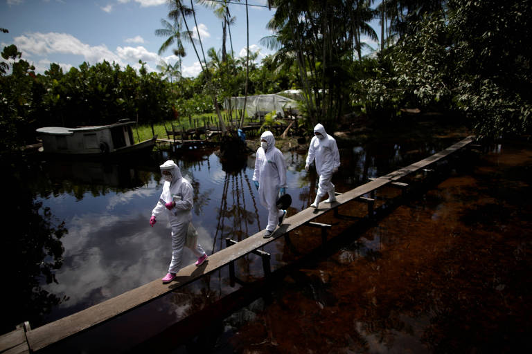 Fotógrafo acompanha combate ao coronavírus na ilha de Marajó