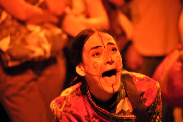 """Espetáculo """"Viúvas - Performance Sobre a Ausência"""", apresentado no Palco Virtual"""