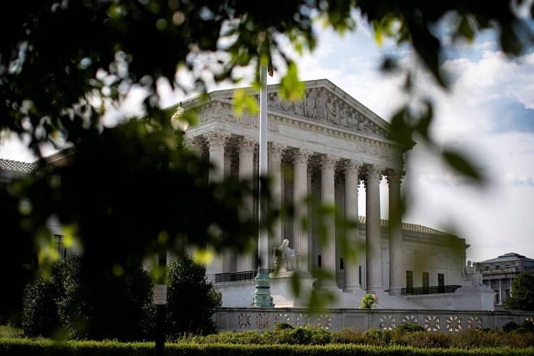 O edifício da Suprema Corte americana, em Washington