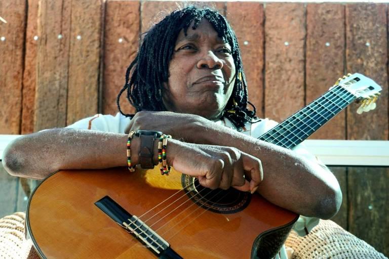 O cantor e compositor Milton Nascimento