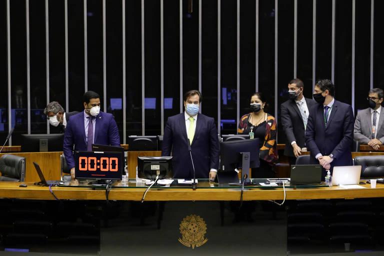 Presidente da Câmara dos Deputados, Rodrigo Maia (DEM - RJ)