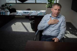 John Rodgerson, presidente da Azul Linhas Aéreas