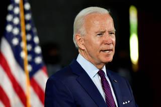 U.S. Democratic presidential candidate Joe Biden holds campaign event in Lancaster, Pennsylvania