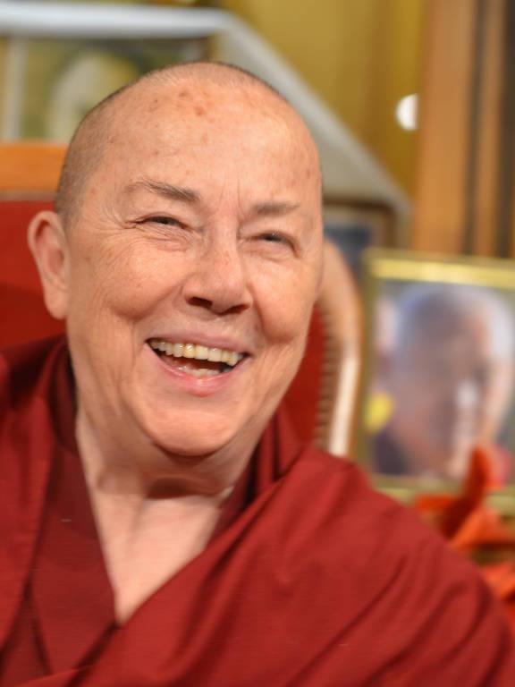 A monja budista Robina Courtin