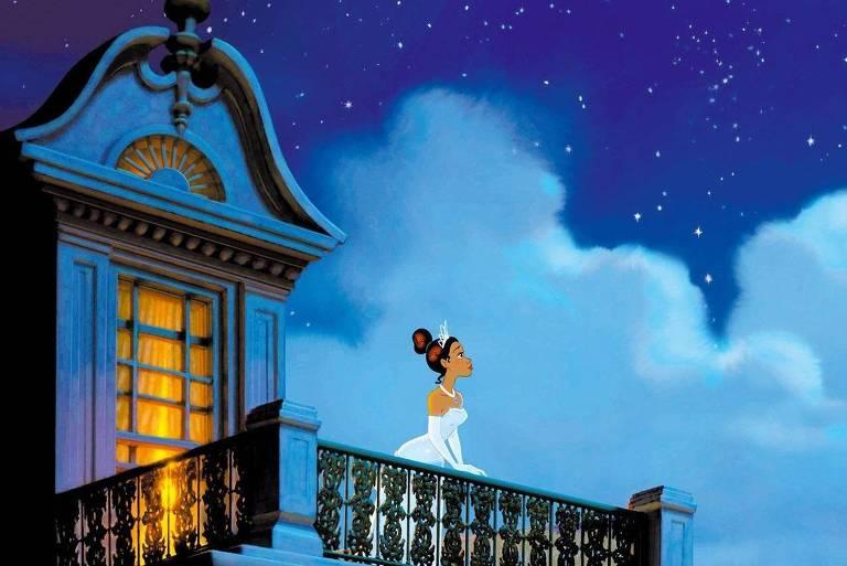 """Cena da animação """"A Princesa e o Sapo"""", da Disney"""
