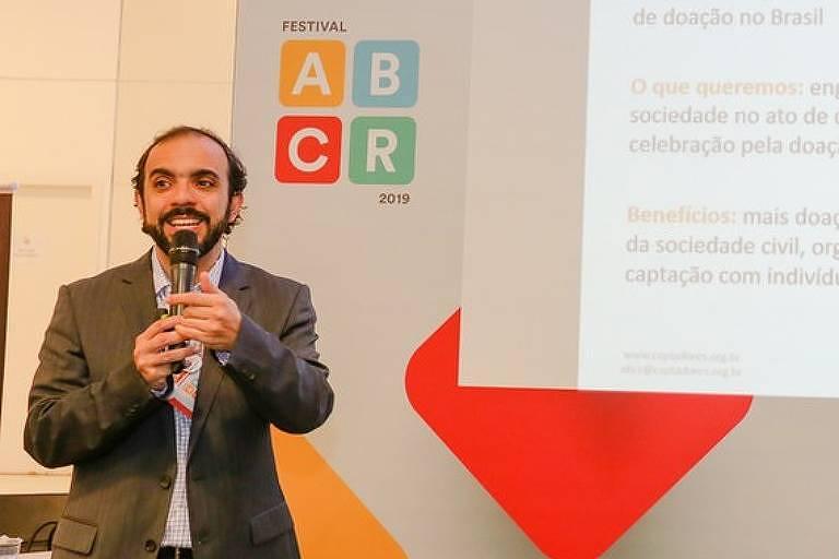 Palestrante no Festival ABCR 2019. Em 2020, a conferência ganha versão 100% online