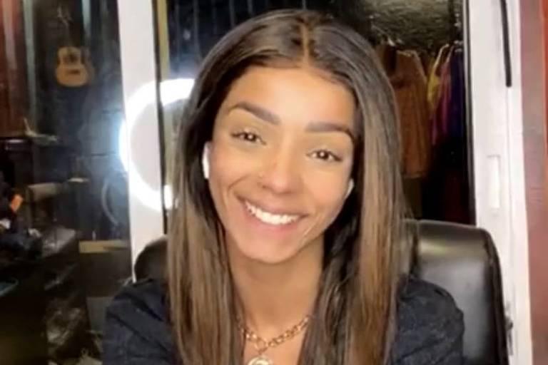 Brunna Gonçalves bate-papo com Raissa de Oliveira