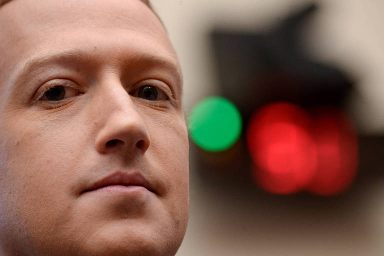 Presidente do Facebook, Mark Zuckerberg