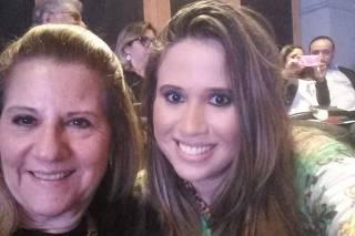 Maria Cristina Frisoni e a filha, Renata, pegaram a Covid-19