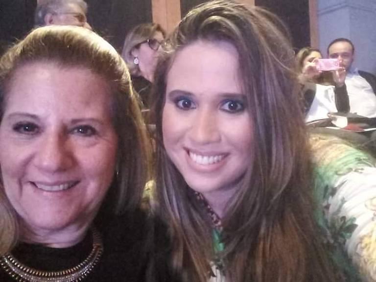Maria Cristina Frisoni e a filha, Renata, pegaram a Covid-19, mas se recuperaram em casa, na capital paulista, sem precisar de internação