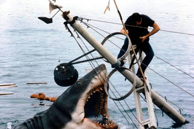 """Cena do filme """"Tubarão"""""""