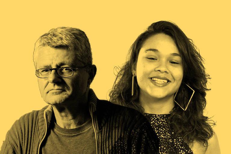 Oscar Pilagallo e Ingrid Fernandes