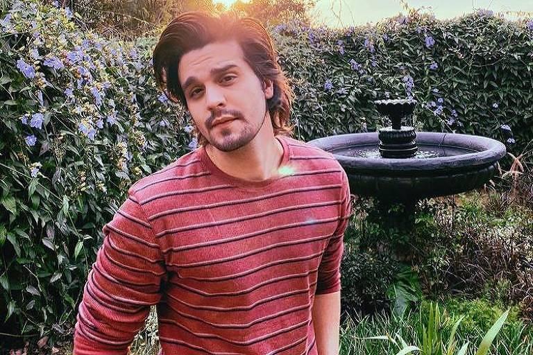 O cantor Luan Santana em foto postada no seu Instagram