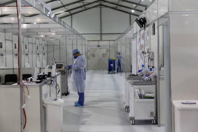 Hospital de Campanha encerra as atividades no Pacaembu