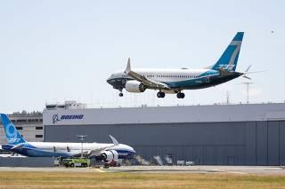Boeing 737 MAX test flight takes off in Seattle: FAA
