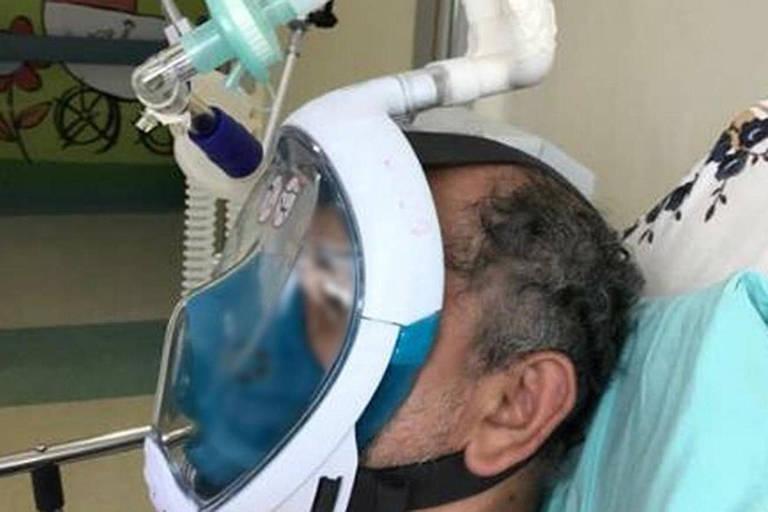 Paciente atendido em Santa Casa no Pará; hospitais têm dificuldades para comprar sedativos
