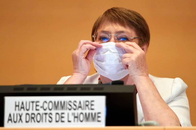 Michelle Bachelet participa de sessão do Conselho de Direitos Humanos da ONU