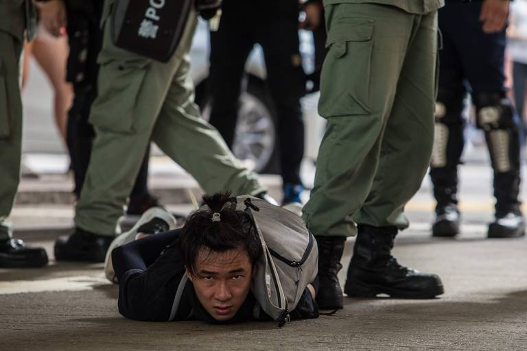 Protestos em Hong Kong após aprovação de nova lei de segurança nacional