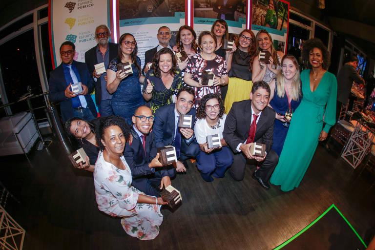 Vencedores e finalistas do Prêmio Espírito Público 2019
