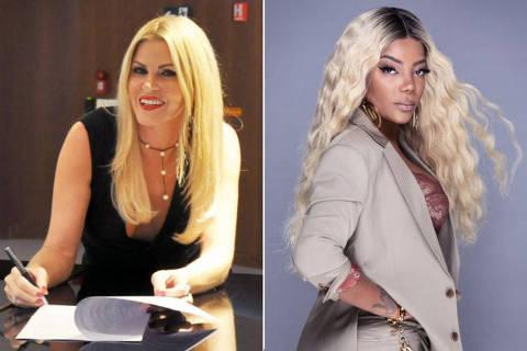 Ludmilla comenta processo contra Val Marchiori: 'Por ser rica, nada aconteceu' .  Credito:Folhapress e Divulgacao ORG XMIT: LOCAL1909190954609608