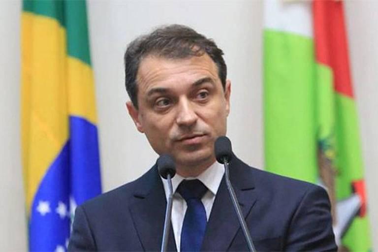 Carlos Moises, governador de SC