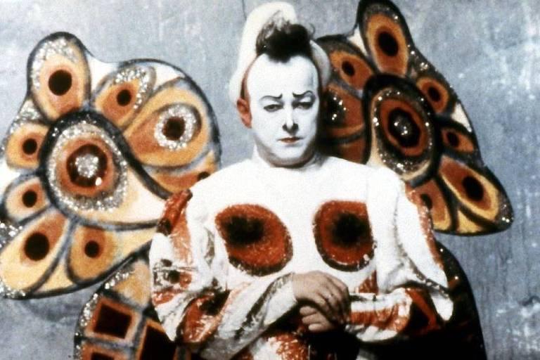"""Cena de """"Os Palhaços"""", de Federico Fellini"""