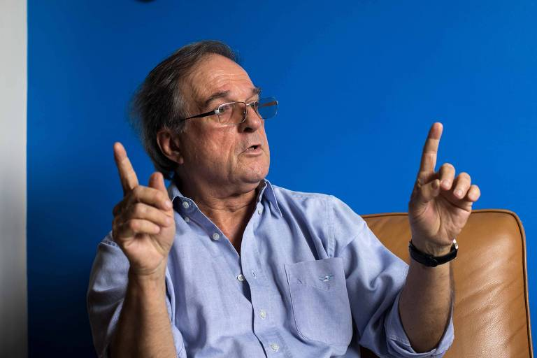 Retrato do historiador Daniel Aarao Reis