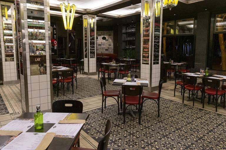 Restaurantes e bares se preparam para reabertura em São Paulo