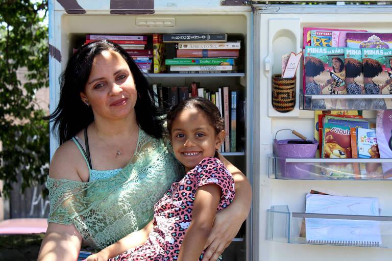 Na zona oeste, a líder comunitária Viviane Lima Neves, 38, relata temor com reabertura dos comércios