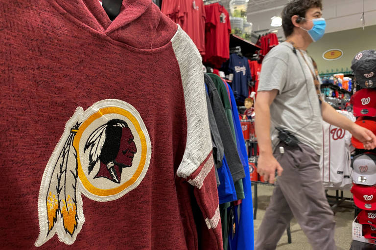 Nome e escudo do Washington Redskins fazem referência aos 'índios de pele vermelha' norte-americanos