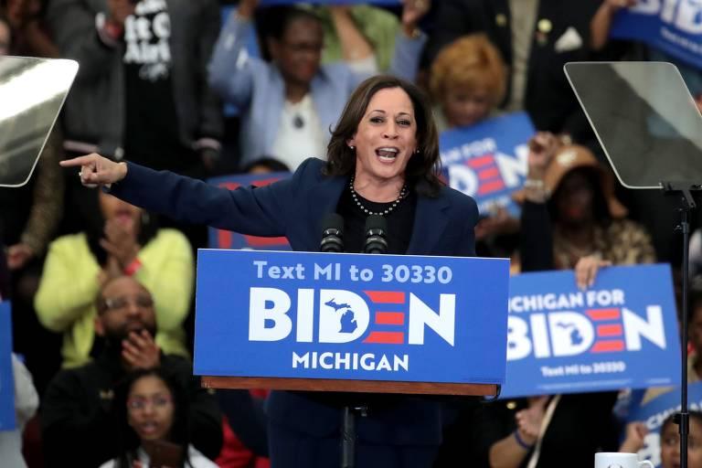 Democratas cotadas a vice de Joe Biden