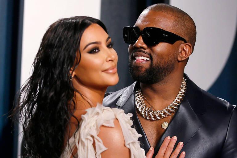 Kim Kardashian e Kanye West fazem viagem secreta e sem paparazzi para salvar casamento