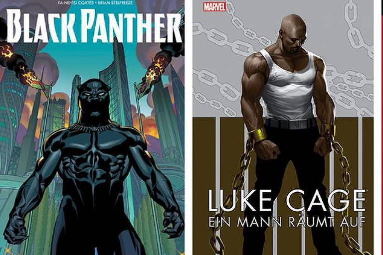 O longo caminho dos super-heróis negros nos quadrinhos